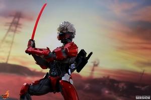 Фигурка Raiden (версия брони ада) Hot Toys Metal Gear фотография-02.jpg