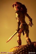 Коллекционная фигурка Красная Соня Ше-дьявол с мечом Sideshow Collectibles Red Sonja фотография-02.jpg