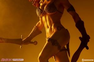 Коллекционная фигурка Красная Соня Ше-дьявол с мечом Sideshow Collectibles Red Sonja фотография-03.jpg