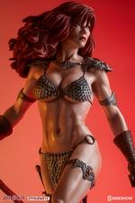 Коллекционная фигурка Красная Соня Ше-дьявол с мечом Sideshow Collectibles Red Sonja фотография-04.jpg