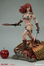 Коллекционная фигурка Красная Соня Ше-дьявол с мечом Sideshow Collectibles Red Sonja фотография-05.jpg