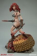 Коллекционная фигурка Красная Соня Ше-дьявол с мечом Sideshow Collectibles Red Sonja фотография-06.jpg