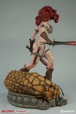 Коллекционная фигурка Красная Соня Ше-дьявол с мечом Sideshow Collectibles Red Sonja фотография-08.jpg