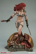 Коллекционная фигурка Красная Соня Ше-дьявол с мечом Sideshow Collectibles Red Sonja фотография-09.jpg