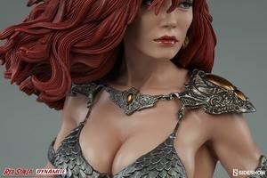 Коллекционная фигурка Красная Соня Ше-дьявол с мечом Sideshow Collectibles Red Sonja фотография-10.jpg