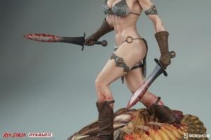 Коллекционная фигурка Красная Соня Ше-дьявол с мечом Sideshow Collectibles Red Sonja фотография-12.jpg