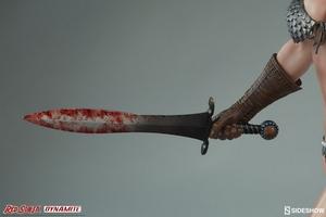 Коллекционная фигурка Красная Соня Ше-дьявол с мечом Sideshow Collectibles Red Sonja фотография-14.jpg