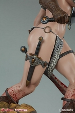 Коллекционная фигурка Красная Соня Ше-дьявол с мечом Sideshow Collectibles Red Sonja фотография-15.jpg