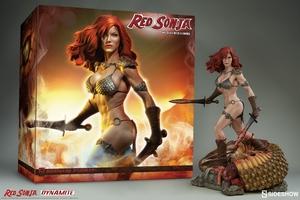 Коллекционная фигурка Красная Соня Ше-дьявол с мечом Sideshow Collectibles Red Sonja фотография-18.jpg