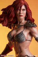 Коллекционная фигурка Красная Соня Ше-дьявол с мечом Sideshow Collectibles Red Sonja фотография-19.jpg