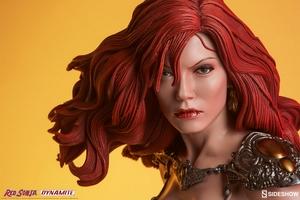Коллекционная фигурка Красная Соня Ше-дьявол с мечом Sideshow Collectibles Red Sonja фотография-20.jpg