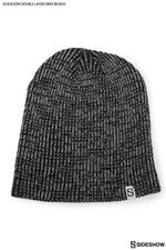 Одежда Sideshow двойной слой вязать серый шапочка Sideshow Collectibles Сайдшоутойс, сайдшоу колектиблс фотография-01.jpg