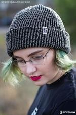 Одежда Sideshow двойной слой вязать серый шапочка Sideshow Collectibles Сайдшоутойс, сайдшоу колектиблс фотография-02.jpg