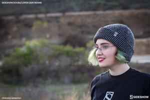 Одежда Sideshow двойной слой вязать серый шапочка Sideshow Collectibles Сайдшоутойс, сайдшоу колектиблс фотография-03.jpg