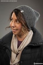 Одежда Sideshow двойной слой вязать серый шапочка Sideshow Collectibles Сайдшоутойс, сайдшоу колектиблс фотография-05.jpg