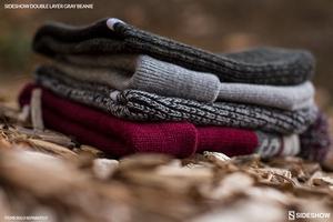 Одежда Sideshow двойной слой вязать серый шапочка Sideshow Collectibles Сайдшоутойс, сайдшоу колектиблс фотография-06.jpg