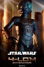 Фигурка 4-LOM Sideshow Collectibles Звездные войны фотография-01.jpg