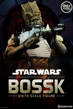 Фигурка Bossk Sideshow Collectibles Звездные войны фотография-01.jpg