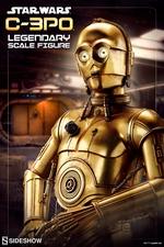 Фигурки согласно размерам по легенде (сказке, комиксу, фильму) C-3PO Sideshow Collectibles Звездные войны фотография-01.jpg