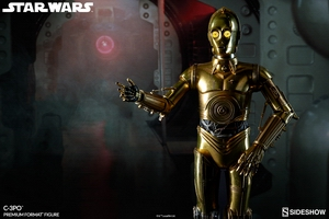 Коллекционная фигурка C-3PO Sideshow Collectibles Звездные войны фотография-02.jpg
