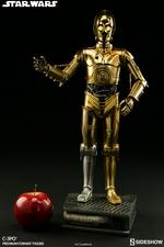 Коллекционная фигурка C-3PO Sideshow Collectibles Звездные войны фотография-03.jpg