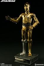 Коллекционная фигурка C-3PO Sideshow Collectibles Звездные войны фотография-04.jpg