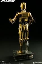 Коллекционная фигурка C-3PO Sideshow Collectibles Звездные войны фотография-05.jpg