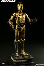 Коллекционная фигурка C-3PO Sideshow Collectibles Звездные войны фотография-06.jpg