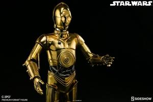 Коллекционная фигурка C-3PO Sideshow Collectibles Звездные войны фотография-09.jpg
