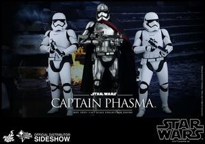 Фигурка Капитан Фэсма Hot Toys Звездные войны фотография-15.jpg