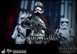 Фигурка Капитан Фэсма Hot Toys Звездные войны фотография-16.jpg