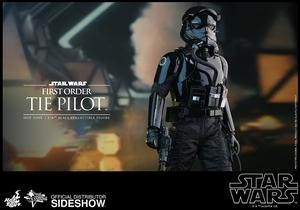 Фигурка Первый пилот СВЯЗИ заказа Hot Toys Звездные войны фотография-09.jpg