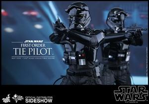 Фигурка Первый пилот СВЯЗИ заказа Hot Toys Звездные войны фотография-10.jpg