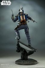 Коллекционная фигурка Джанго Фетт Sideshow Collectibles Звездные войны фотография-07.jpg