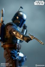 Коллекционная фигурка Джанго Фетт Sideshow Collectibles Звездные войны фотография-11.jpg