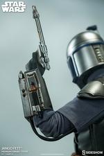 Коллекционная фигурка Джанго Фетт Sideshow Collectibles Звездные войны фотография-12.jpg