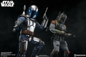Коллекционная фигурка Джанго Фетт Sideshow Collectibles Звездные войны фотография-19.jpg