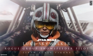 Фигурка Люк Скайуокер Rogue Group Snowspeeder Pilot Sideshow Collectibles Звездные войны фотография-01.jpg