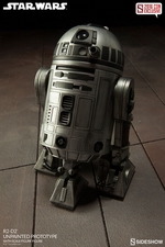 Фигурка  Р2-Д2 - непрокрашенный прототип Sideshow Collectibles Звездные войны фотография-02.jpg