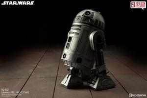 Фигурка  Р2-Д2 - непрокрашенный прототип Sideshow Collectibles Звездные войны фотография-03.jpg