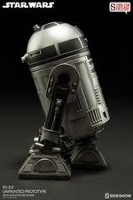 Фигурка  Р2-Д2 - непрокрашенный прототип Sideshow Collectibles Звездные войны фотография-04.jpg