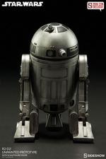 Фигурка  Р2-Д2 - непрокрашенный прототип Sideshow Collectibles Звездные войны фотография-05.jpg