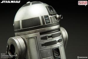 Фигурка  Р2-Д2 - непрокрашенный прототип Sideshow Collectibles Звездные войны фотография-06.jpg