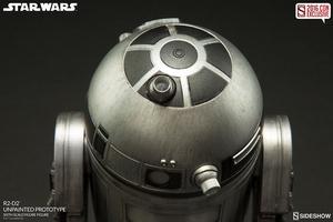 Фигурка  Р2-Д2 - непрокрашенный прототип Sideshow Collectibles Звездные войны фотография-07.jpg