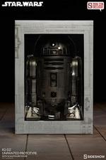 Фигурка  Р2-Д2 - непрокрашенный прототип Sideshow Collectibles Звездные войны фотография-10.jpg
