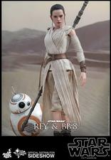Наборы из фигурок Рэй и BB-8 Hot Toys Звездные войны фотография-03.jpg