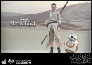 Наборы из фигурок Рэй и BB-8 Hot Toys Звездные войны фотография-04.jpg