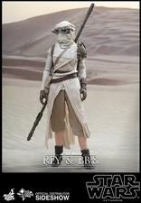 Наборы из фигурок Рэй и BB-8 Hot Toys Звездные войны фотография-09.jpg