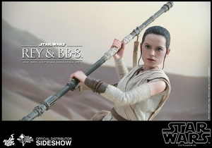 Наборы из фигурок Рэй и BB-8 Hot Toys Звездные войны фотография-16.jpg
