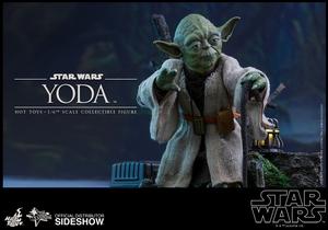 Фигурка Учитель Йодо Hot Toys Звездные войны фотография-01.jpg
